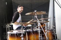 Matt Halpern playing a Velvetone kit