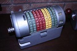 Almex card insert machine
