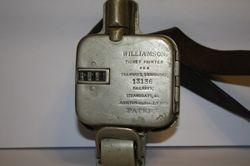 williamson ticket printer 13136