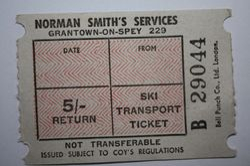 Norman Smith ticket