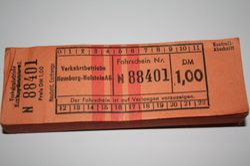German ticket