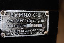 Verometer Name plate