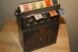 Ultimatic Automaticket machine