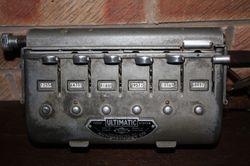 Ultimatic car park machine