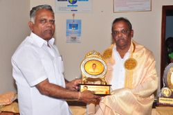 Honor to Mr. Sivamathi M. Mathiyalagan