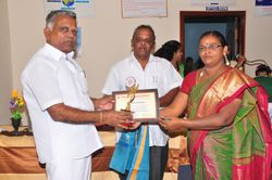 Honor to Mrs. Vijayalakshmi K