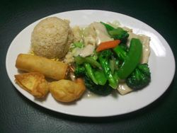 Chicken with Vegetables Combo