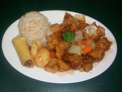 Sweet and Sour Pork Combo