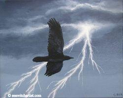 Morrigan Battle crow