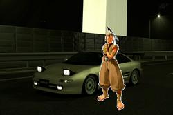 Ibuki and her Toyota MR2