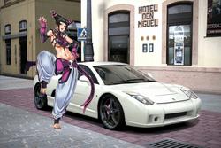 Juri Han and her Proto Motors Spirra 4.6 V8
