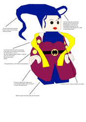 Rose Legoman plans
