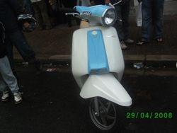 Lambretta from front