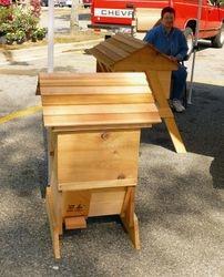 Red Cedar Garden Hive