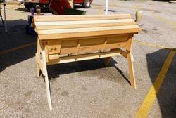 Large Red Cedar Top Bar Hive