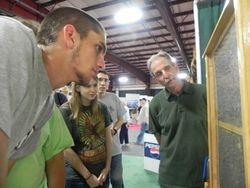 Bob Lyon explains the observation Hive