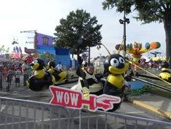 Cynthia enjoying the Fair