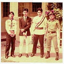 1984 : Amir BSN, Man Mael, Cikgu Munir & Cikgu Sajeri