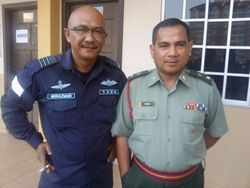 Another Man in Uniform: Man Mael & Ark Pasola