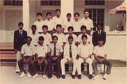 1980: KSAH Cricket Team