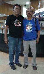 Jasni (84) & Pak Zamri Awang (83)