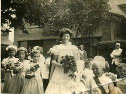 Anne as Rose Queen 1956