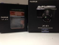 Brand New Sealed Fujifilm Camera + Leather Case + 8GB memory card.