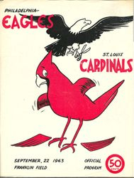 1963 Philadelphia Eagles vs. St. Louis Cardinals
