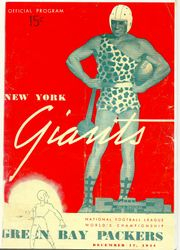 1944 New York Giants vs. Green Bay Packers