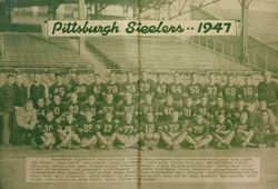 1947 Pittsburgh Steelers