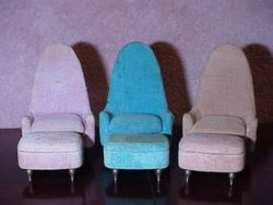 Ideal's Petite Princess Fantasy Occasional Chairs & Ottomans