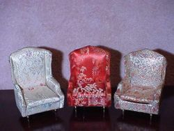 Ideal's Petite Princess Fantasy Salon Wing Chairs