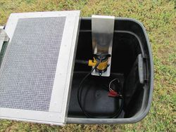 Recirculator screen box