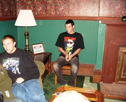 Boys in the parlor