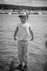Young Boy at Lake