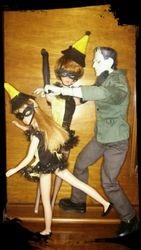Barbie & Skipper Meet Frankenstein