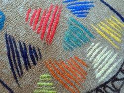 Rug/wall piece close-up