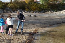 A lesson in skipping stones