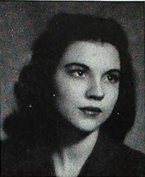 Marjorie's yearbook photo
