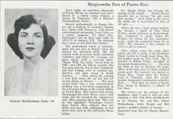 Another article about Marjorie