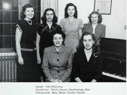 Marjorie in college