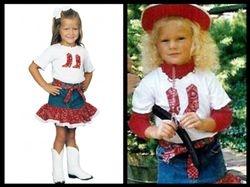 Taylor dressed in Kiddie Korral