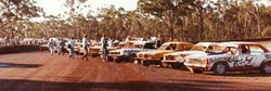 """Winternationals"" lineup 1980. Photo M Cowin"