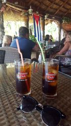 Cuba Libre at Barraca Don Pepe