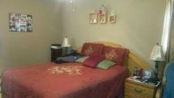 Bedroom w/deck