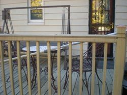 Deck w/Roll Out Awning