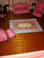 medium sized tapestry type rug