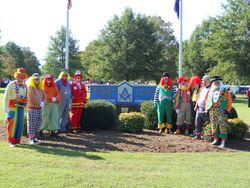ACCA KLOWNS at the Masonic Home of Virginia