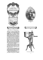 Cream Harvester brochure