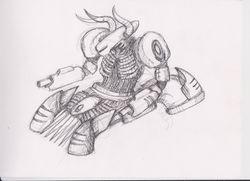 Improved concept art of Myrmidon